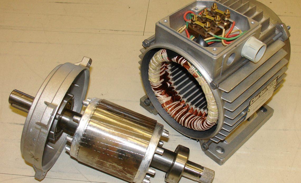 silnik elektryczny trójfazowy