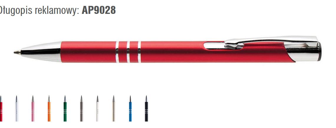 długopisy metalowe dla ucznia
